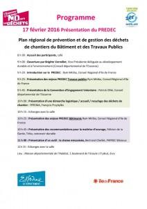 thumbnail of Programme Définitif PREDEC