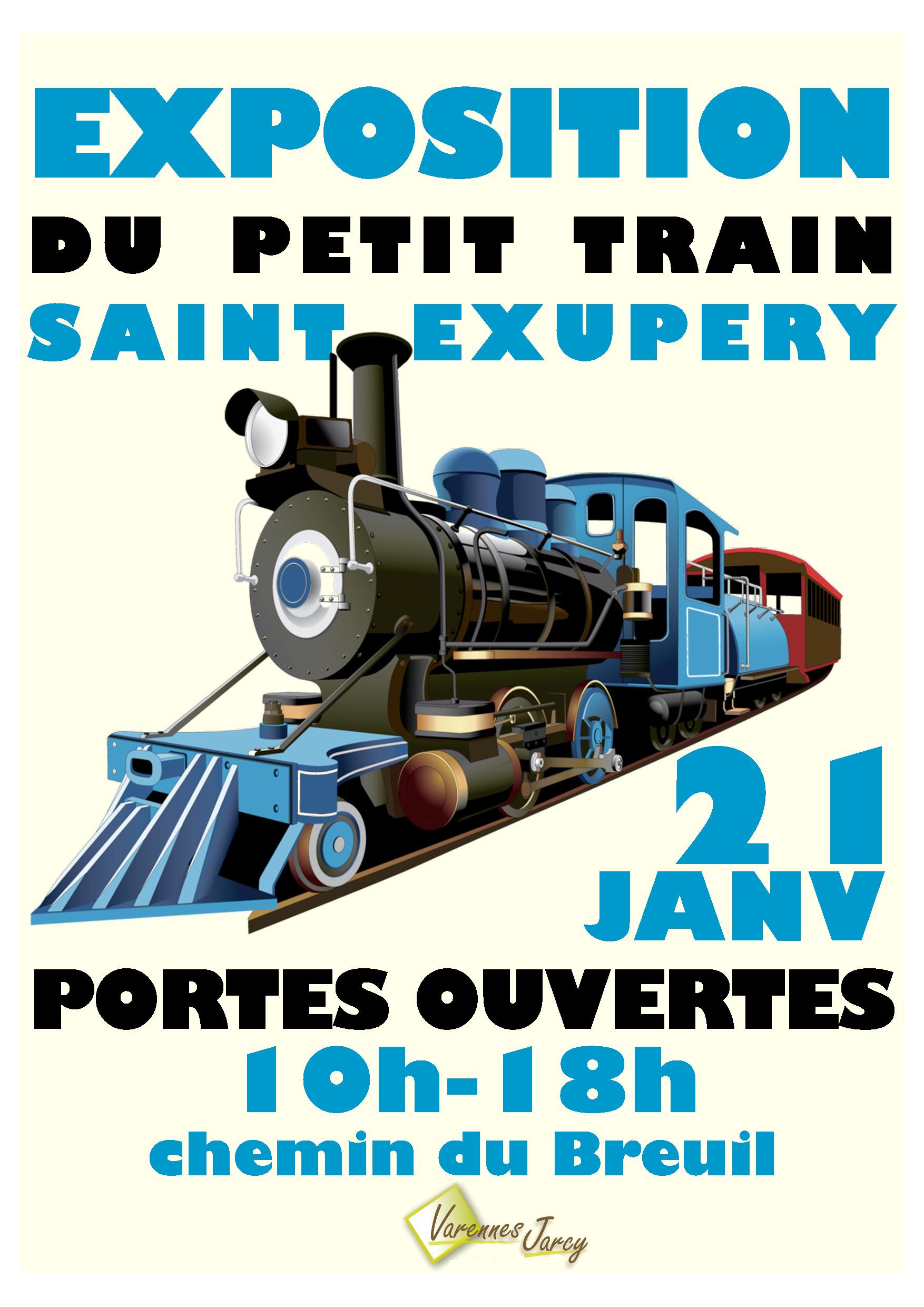 thumbnail of affiche petit train