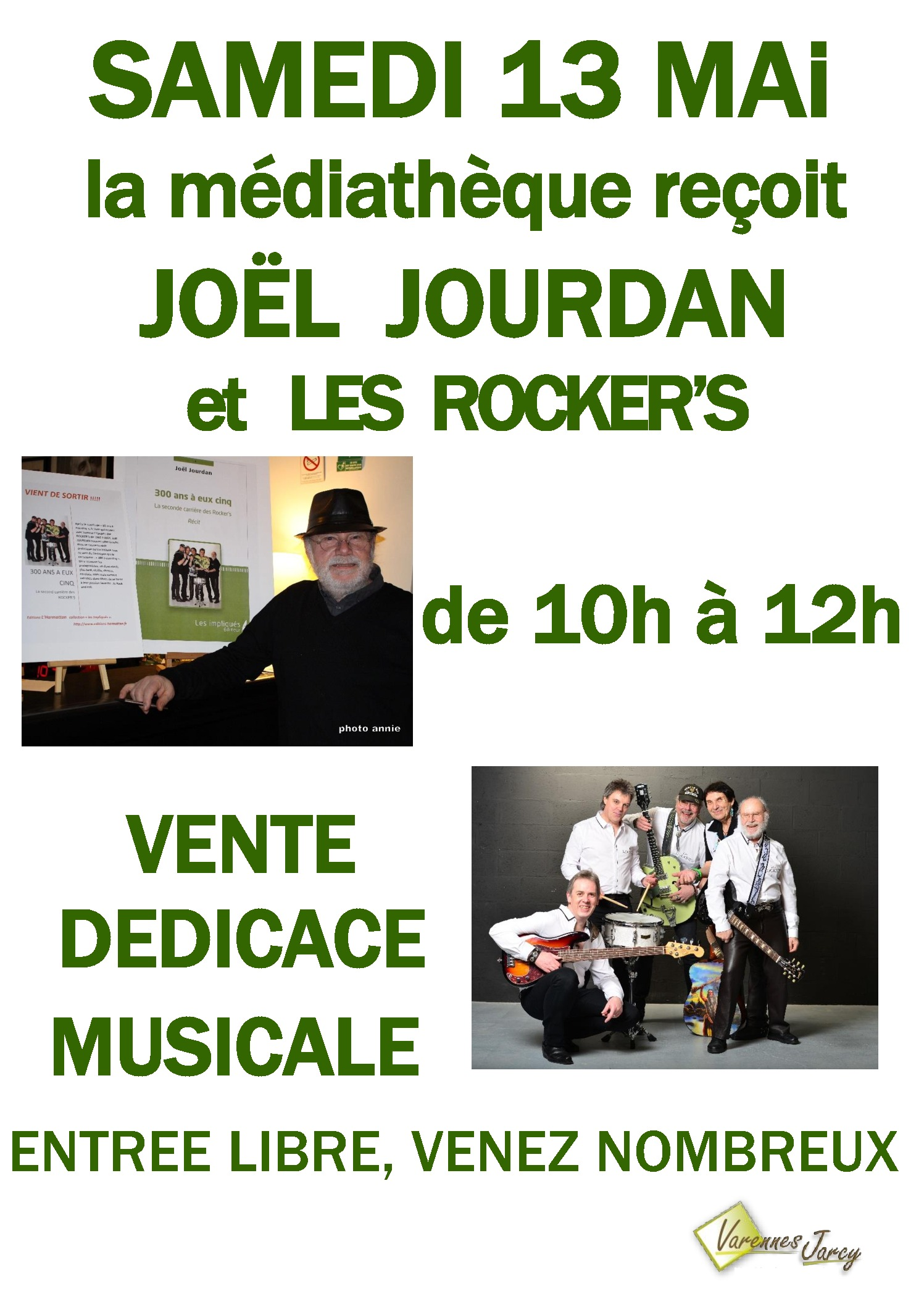 thumbnail of Affiche A3 les ROCKER'S