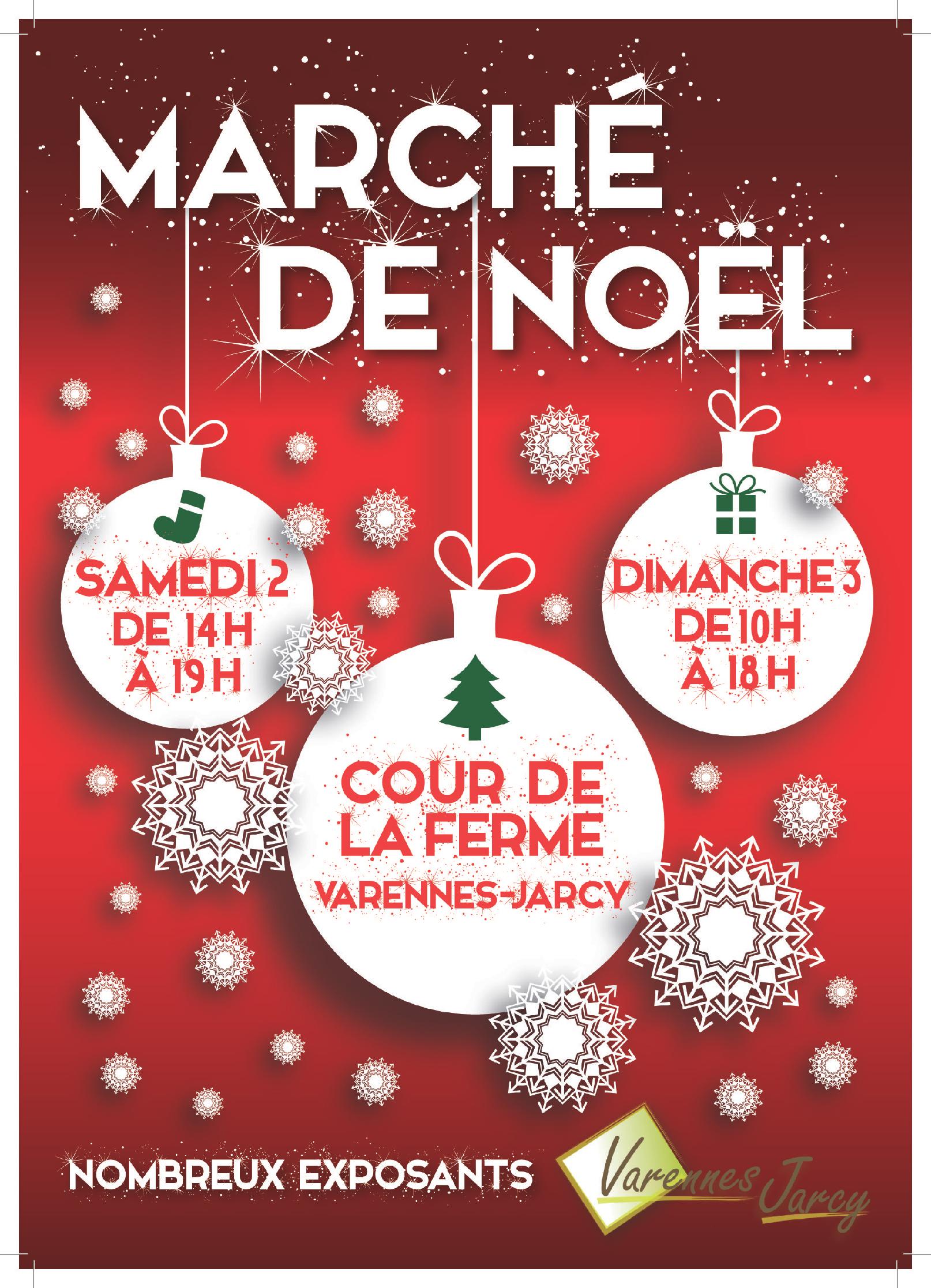 thumbnail of Affiche Marché de Noël 2017