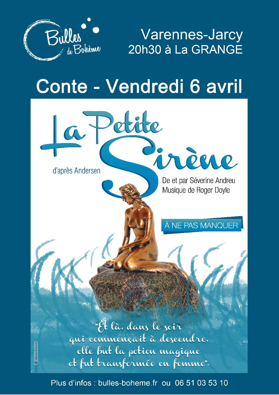 thumbnail of Affiche petite sirene