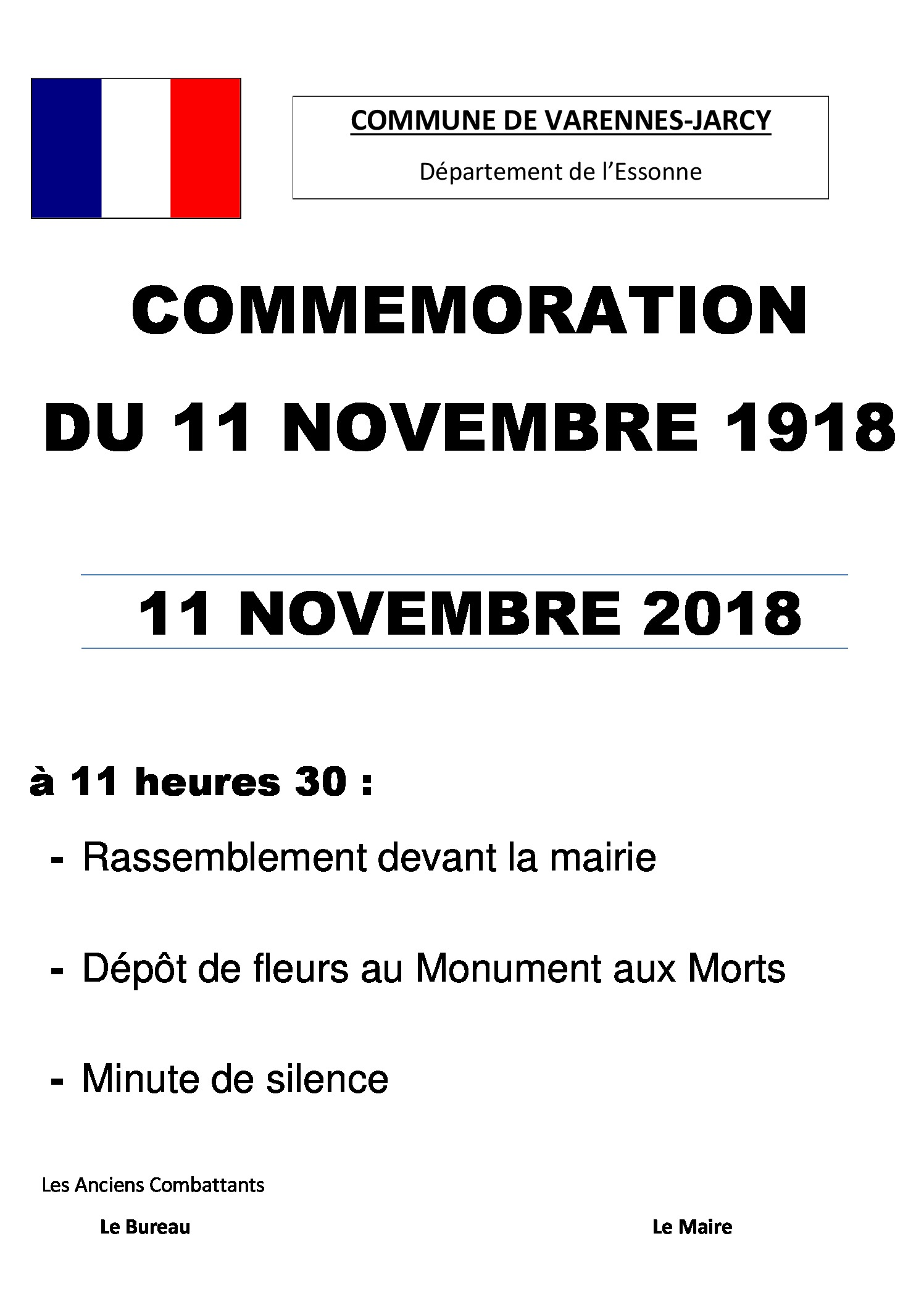 thumbnail of affiche COMMEMORATION 11 nov