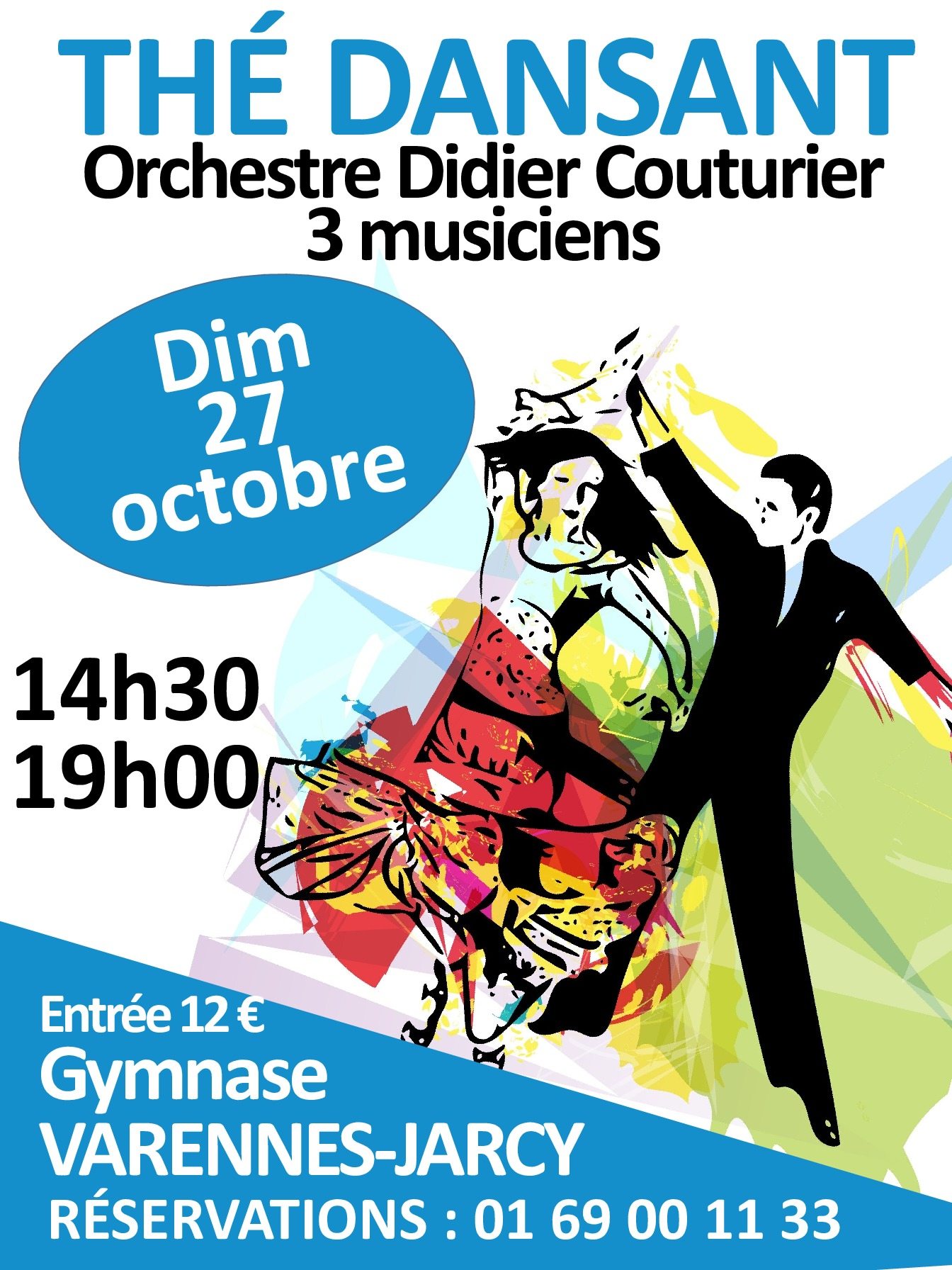 thumbnail of affiche the dansant octobre 2019