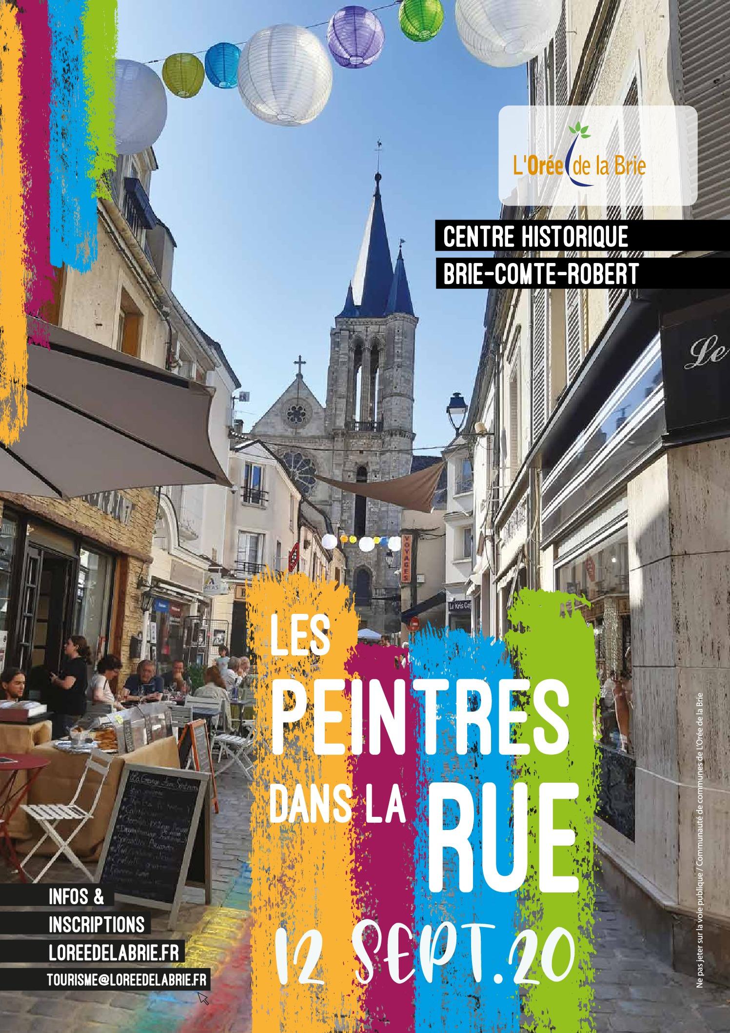 thumbnail of affiche peintres dans la rue imprimeur web